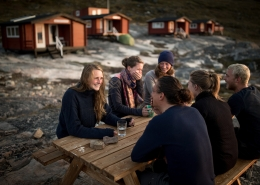 Young guests at Eqi Glacier Lodge in North Greenland. By Mads Pihl