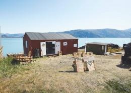 Café Thorhildur - Qassiarsuk. Photo by Peter Lindstrom