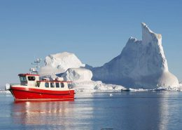 Boat tour into the Pack-ice near Angmagssalik. Photo by Arctic Wonderland Tours, Visit Greenland