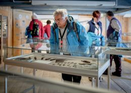 Guests visiting Qasgiannguit Museum in Greenland. Photo by Mads Pihl - Visit Greenland