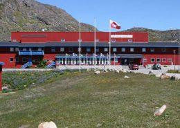 Frontal view of Sulisartut Højskoleat. Photo by Sulisartut Højskoleat, Visit Greenland