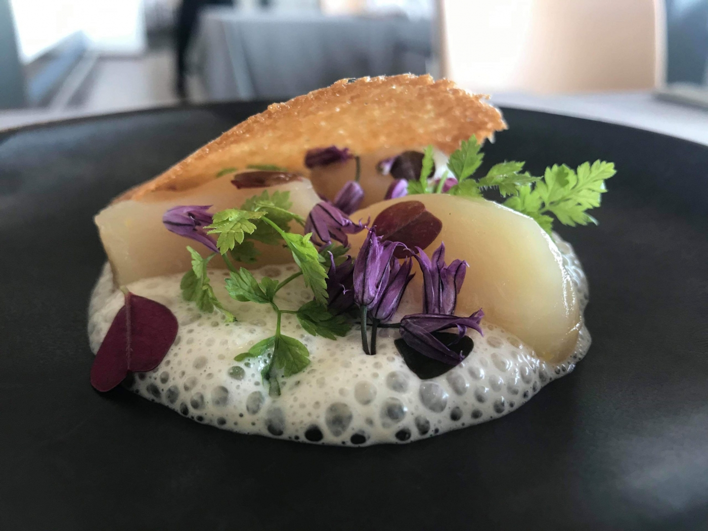 A desert created from local, seasonal ingredients. Photo by Brasserie Ulo - Hotel Arctic