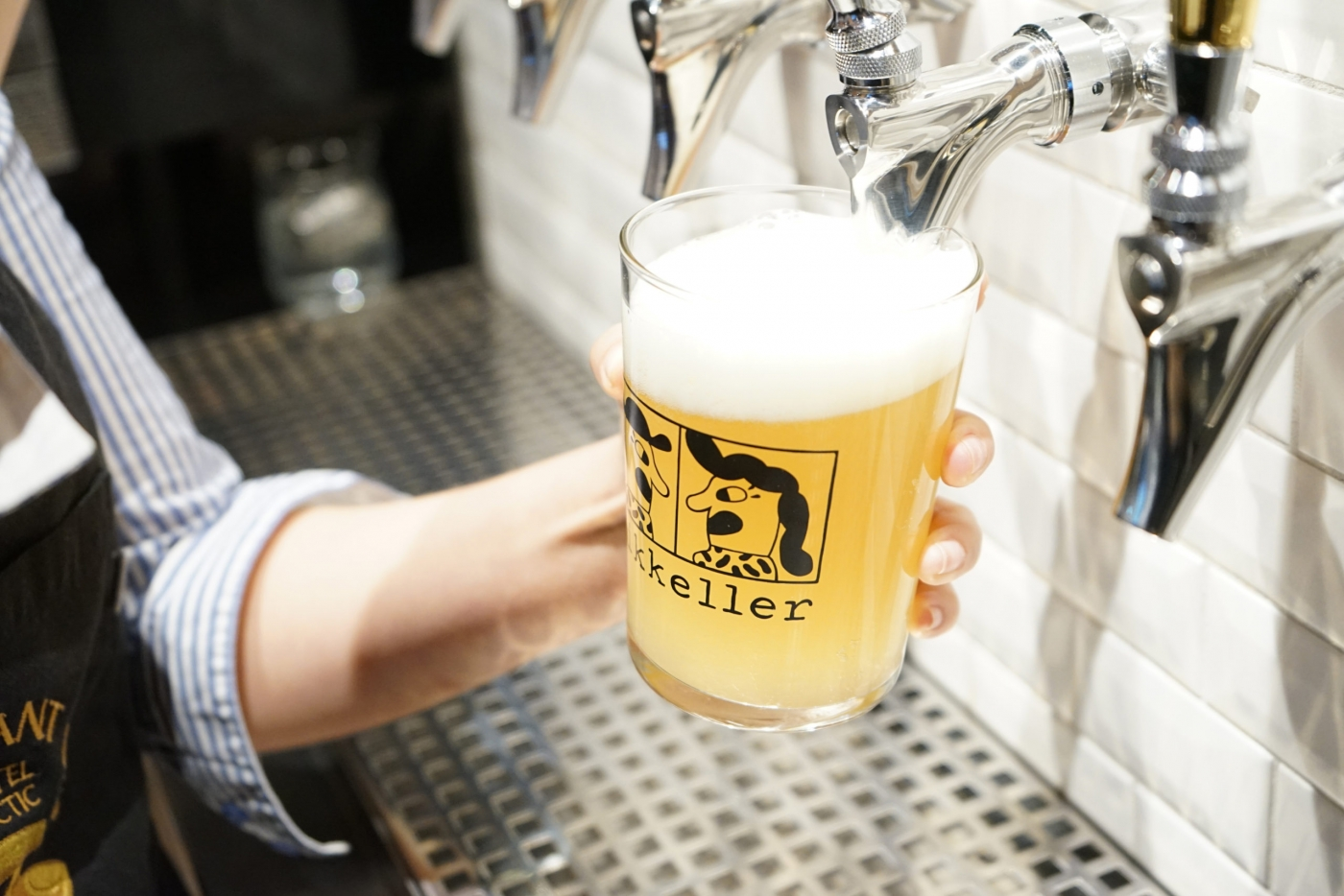 Mikkeller beer on tap at the Brasserie Ulo. Photo by Brasserie Ulo - Hotel Arctic