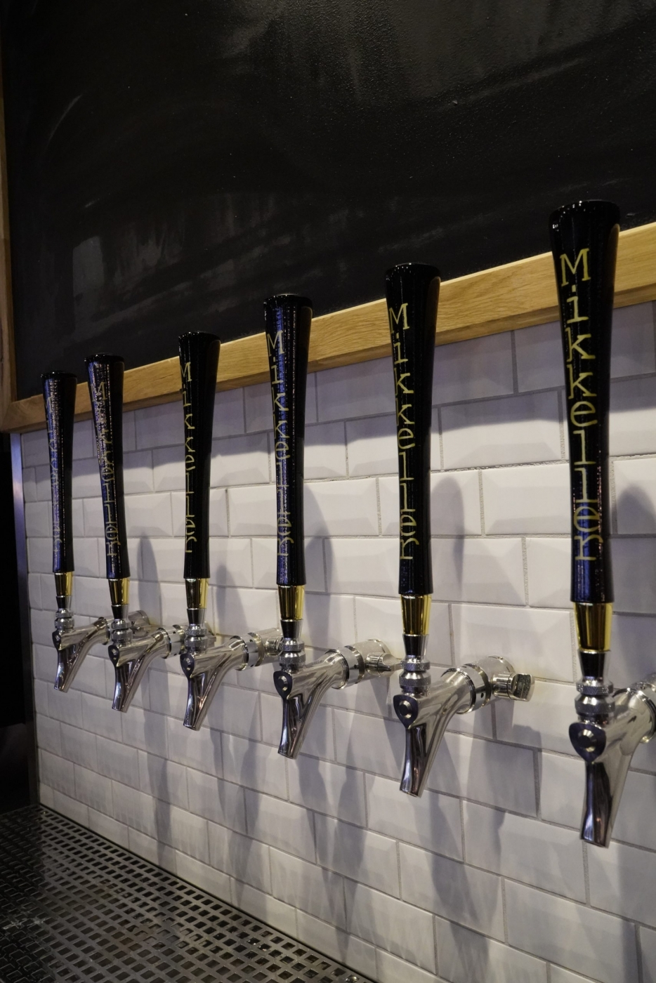 Mikkeller taps at the Brasserie Ulo. Photo by Brasserie Ulo - Hotel Arctic