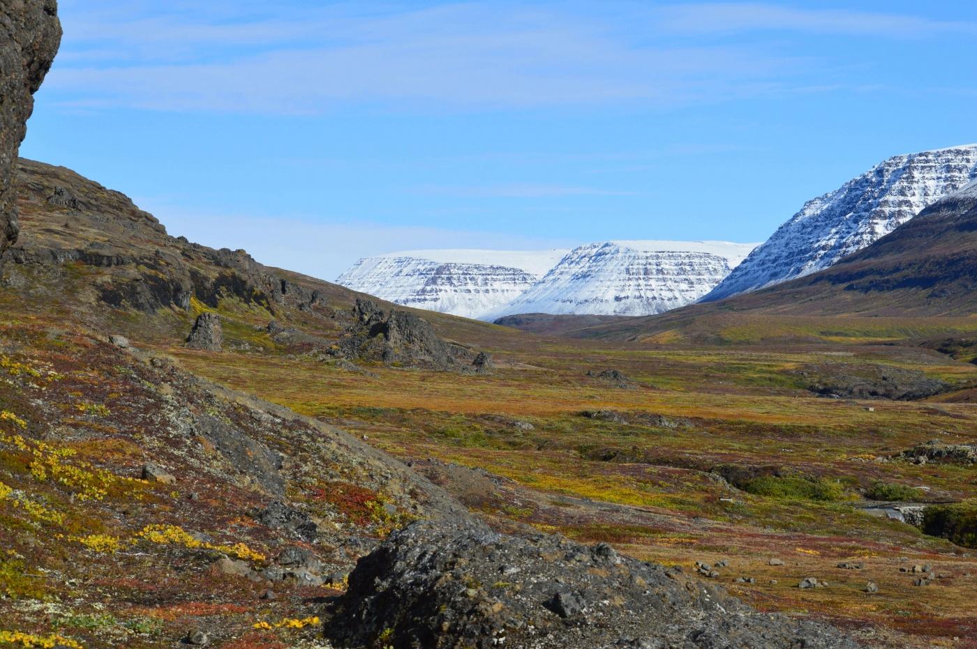 Beautiful, serene landscape near Qeqertarsuaq. Photo by Skansen – Your Home, Visit Greenland