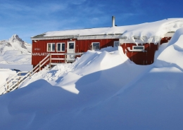 The Red House. Photo by Ulrike Fischer, Visit Greenland