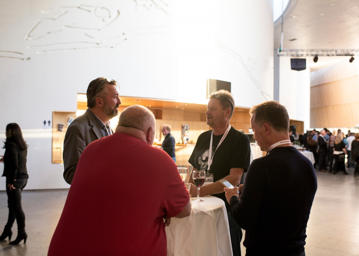 VNTM17 participants networking. Photo by Aningaaq Rosing Carlsen - Visit Greenland