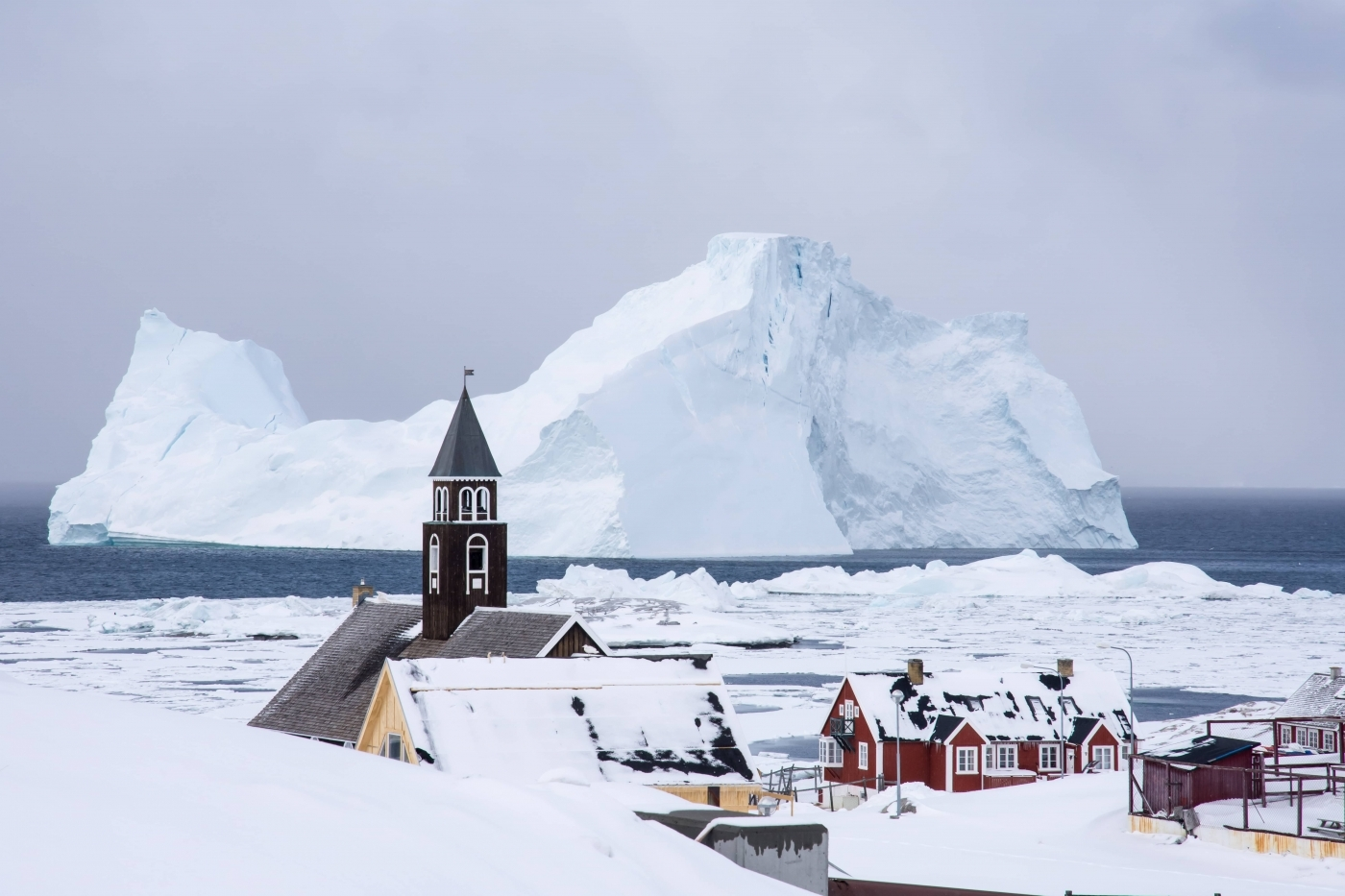 Zions church in Ilulissat. Photo by Inesa Matuliauskaite
