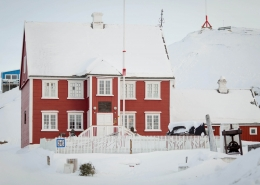 The museum in Ilulissat in Greenland. Photo by Mads Pihl