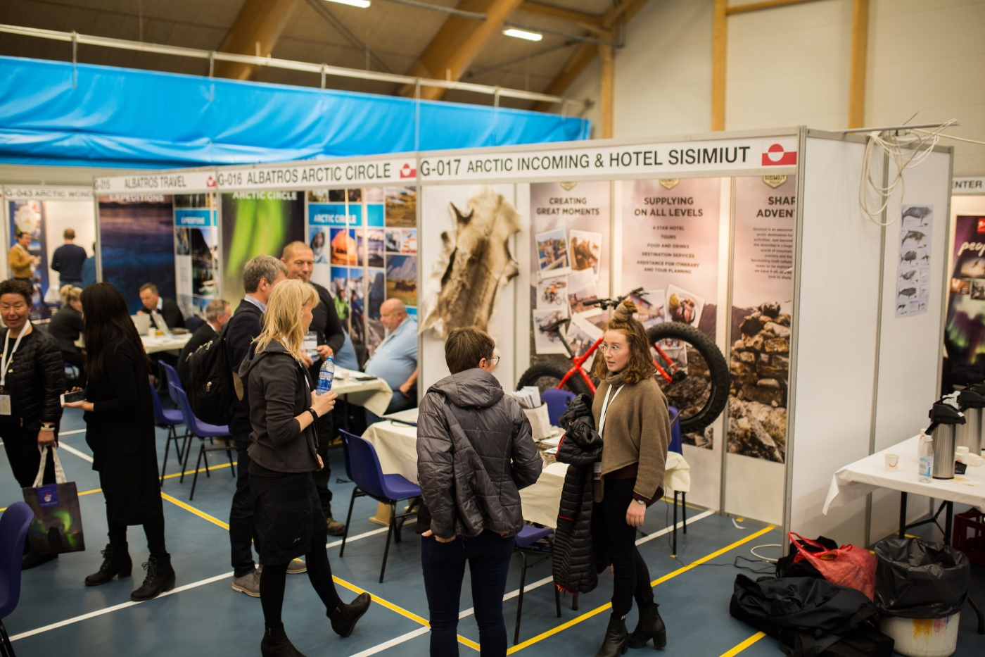 At The Trade Show In Inussivik. Photo by Aningaaq Rosing Carlsen – Visit Greenland