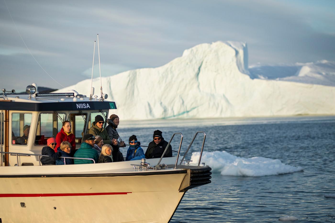 Touring Around Ice, Ilulissat. Aningaaq Rosing Carlsen - Visit Greenland