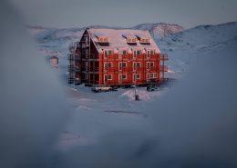 Hotel Avannaa in Ilulissat in Greenland. Photo by Mads Pihl - Visit Greenland