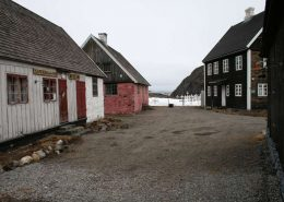 Old colonial buildings that serves as the local museum today. Photo by Maniitsoq Museum