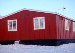Qaanaaq Accommodation in Winter, North Greenland. Photo by Qaanaaq Accommodation