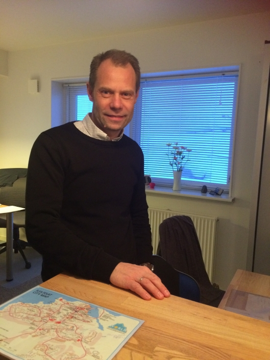 Host of Hotel Avannaa Hans Henry Amorsen. Photo by Hotel Avannaa