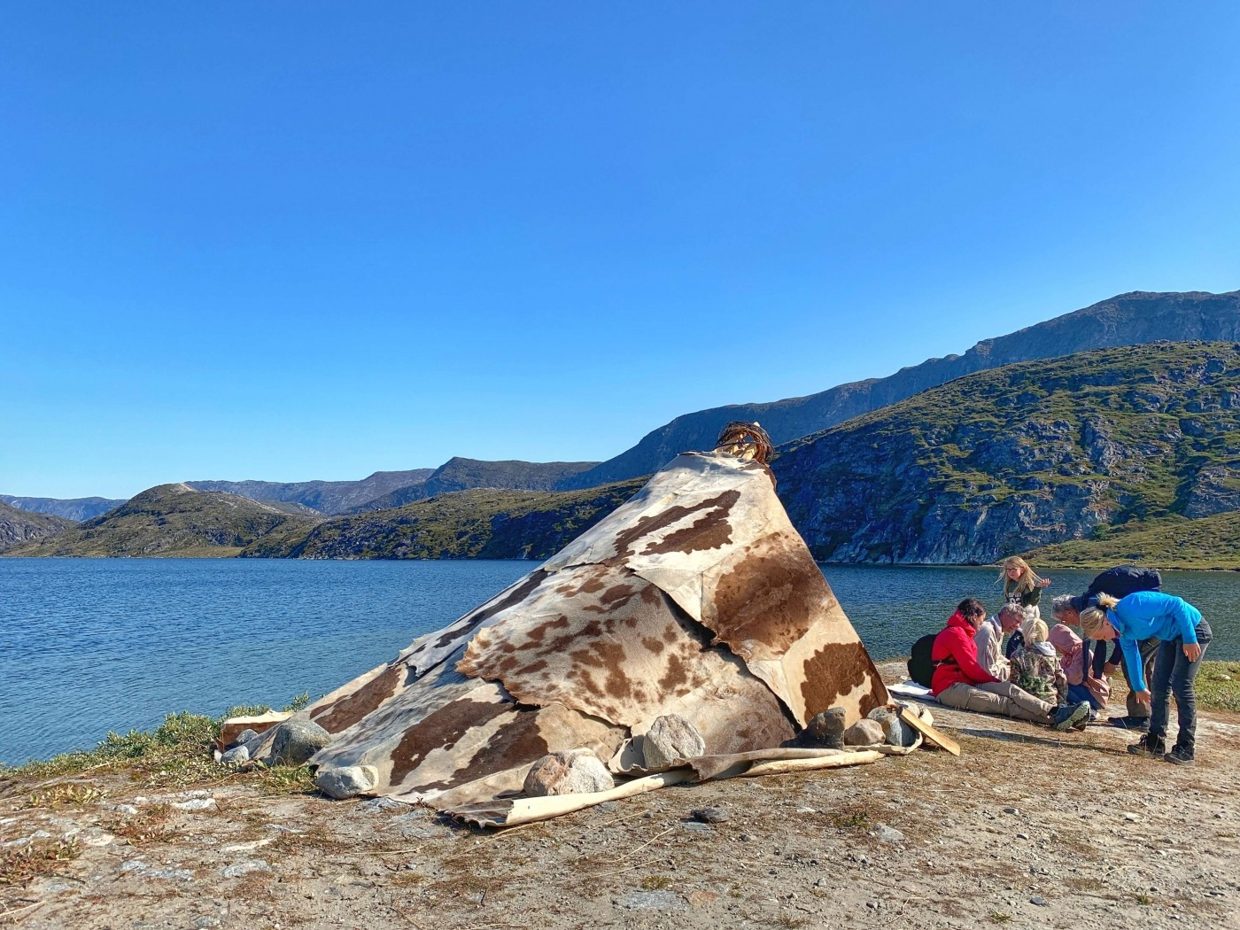 The Hotel Diskobay camp. Photo by Espen Andersen, Visit Greenland