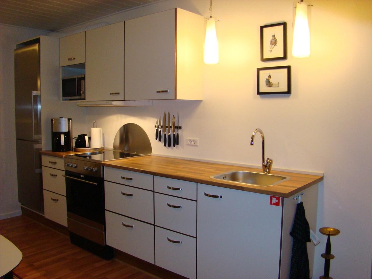 Køkken Lejlighed B + Nuuk Inn Wellness