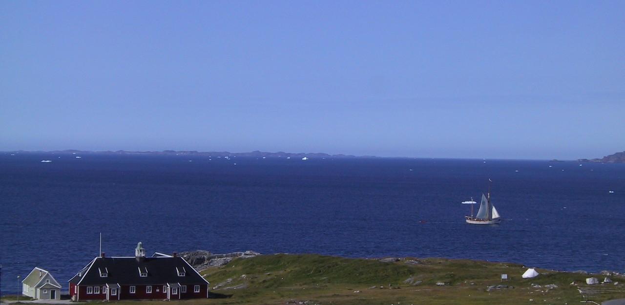 Udsigtsbillede + Nuuk Inn Wellness