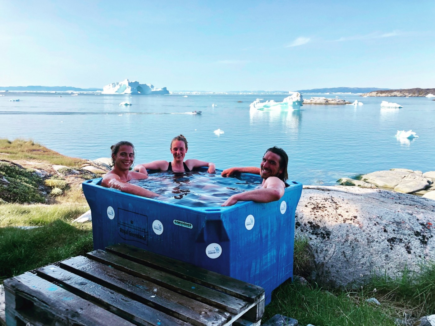 AA Cold tub. photo by Ilulissat Guesthouse