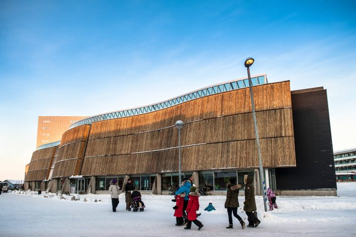 The Katuaq Cultural Centre in Nuuk in Greenland, by Camilla Hylleberg