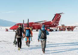 Boarding an Air Greenland flight at Kangerlussuaq International Airport. By Petter Cohen, Xtravel
