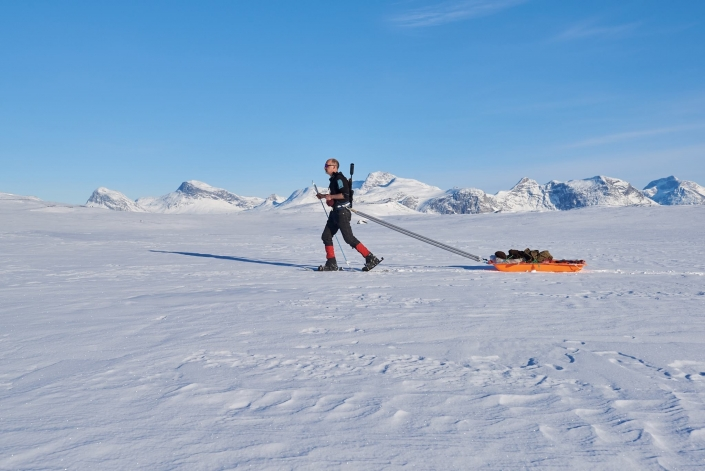 Hunting in Winter. Photo by Nuuk Adventure - Visit Greenland