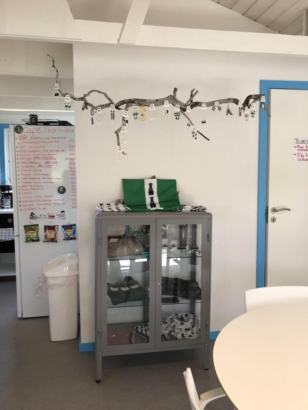 Cafe Thorhildur goods for sale