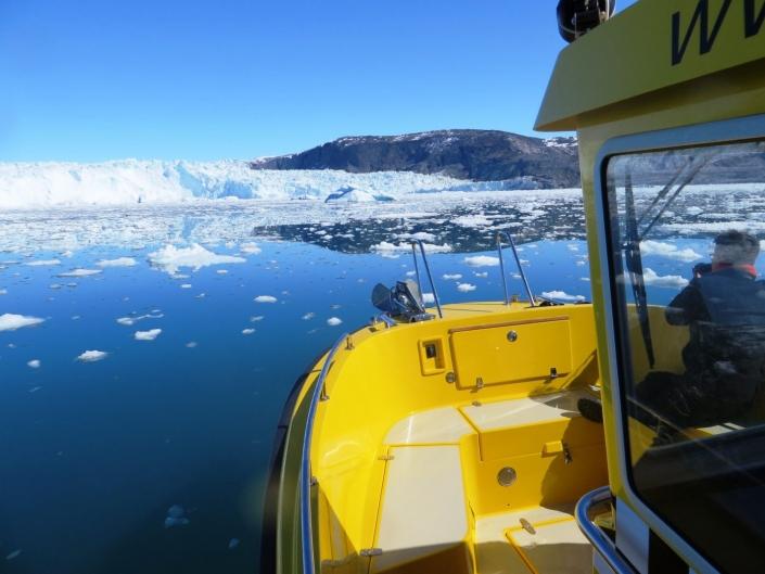 Greenland Water Taxi. Photo by Barbara Wang - Visit Greenland