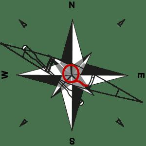 Qajaq logo kompas