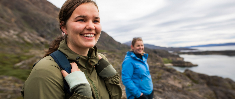 Hikers enjoying the view. Photo - Aningaaq R. Carlsen, Visit Greenland