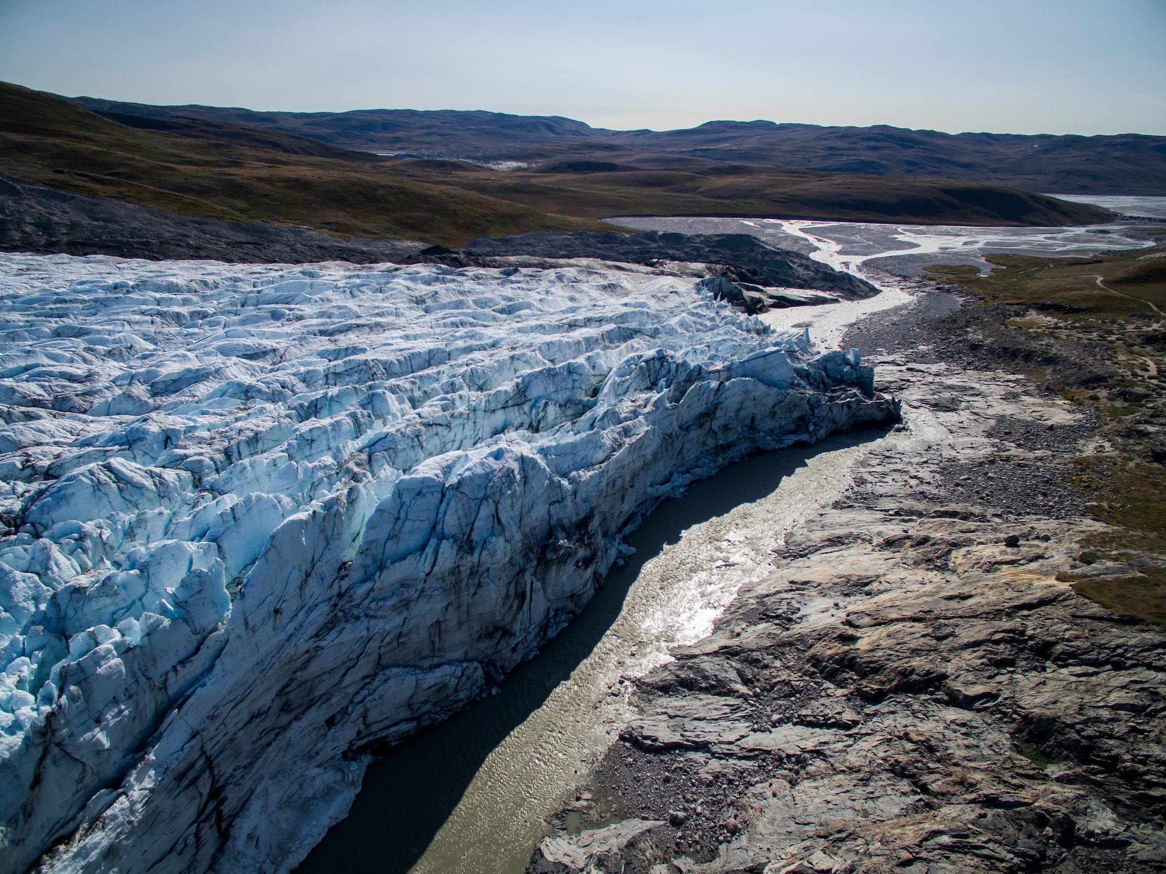 Russell glacier in Kangerlussuaq. Photo-Aningaaq R Carlsen - Visit Greenland