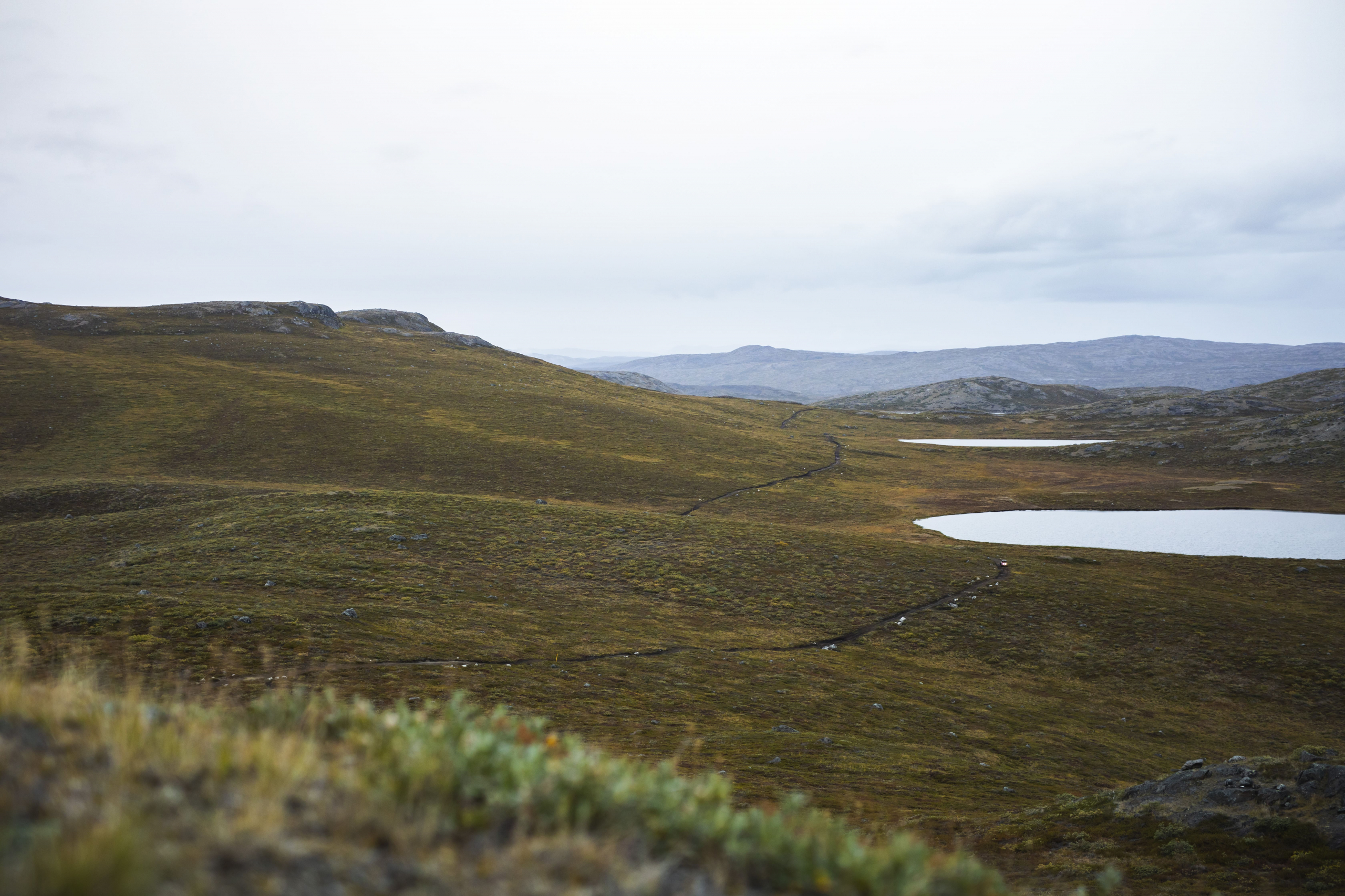 Overview of the road. UTV Trip. Photo by Aningaaq R. Carlsen - Visit Greenland