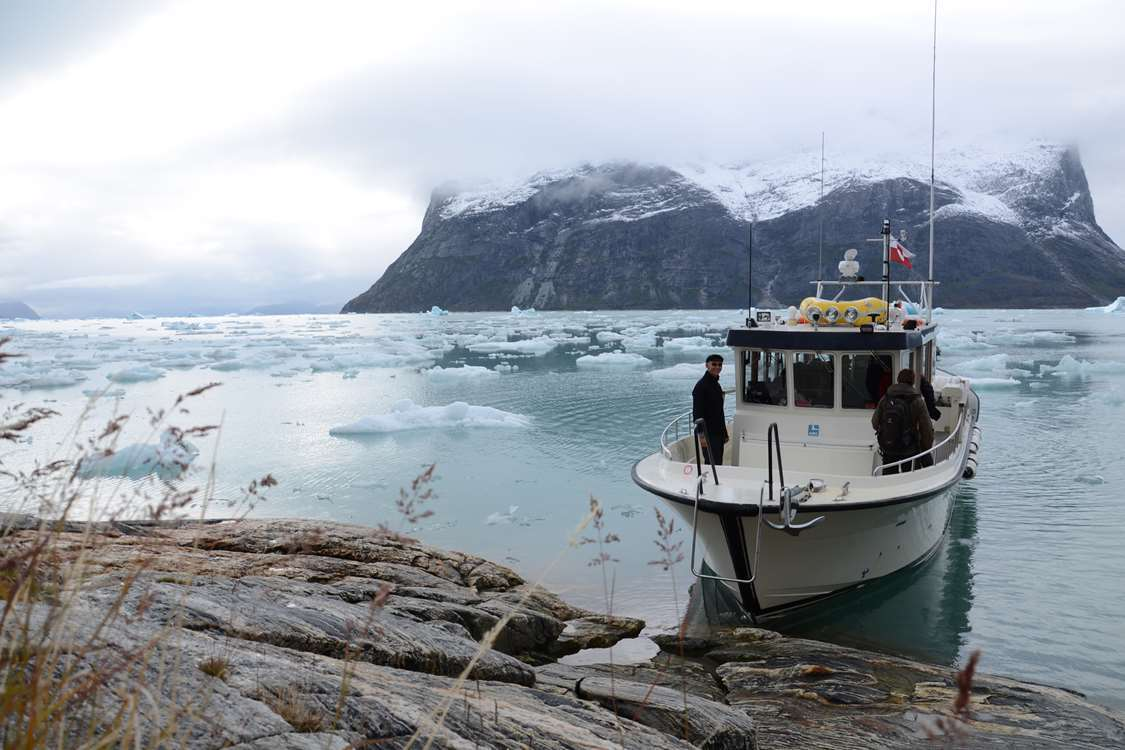 ABC Charter autumn boat tour. Visit Greenland