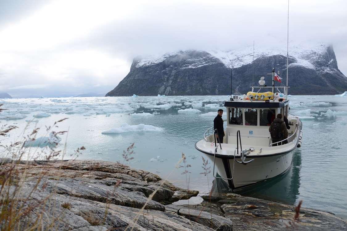 ABC Charter autumn boat tour. Visit Greenland