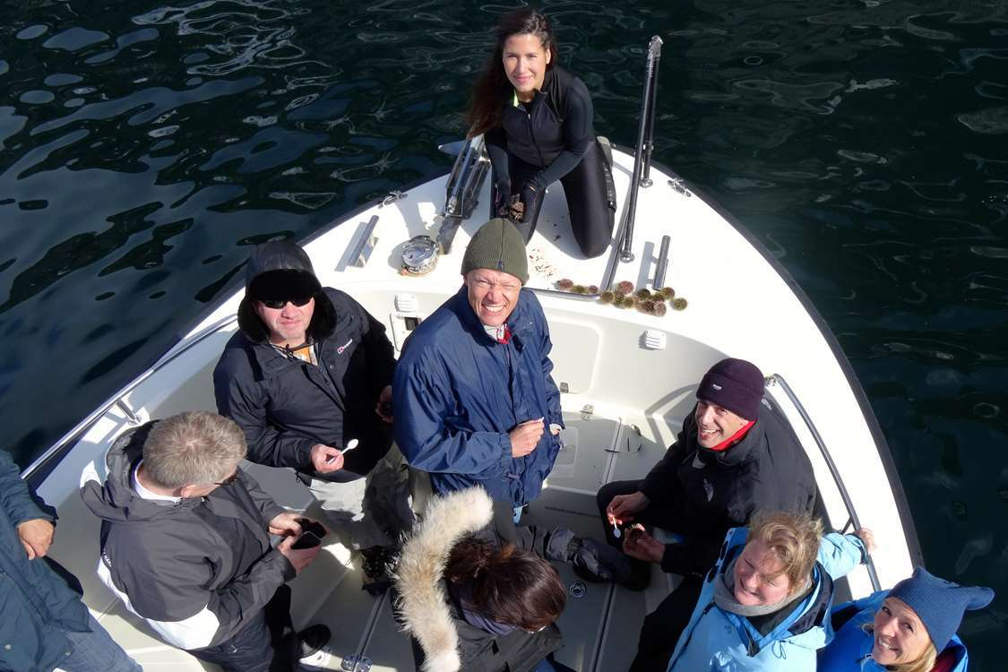 Guests on an ABC Charter tour. Visit Greenland