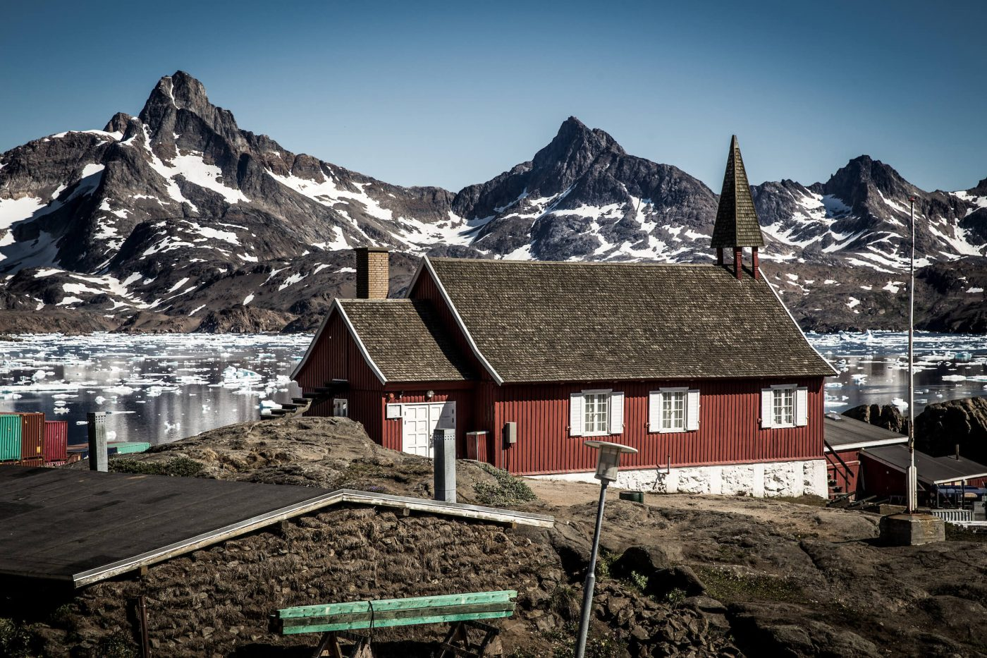 Tasiilaq Museum in the old church in Tasiillaq, East Greenland. Photo by Mads Pihl - Visit Greenland