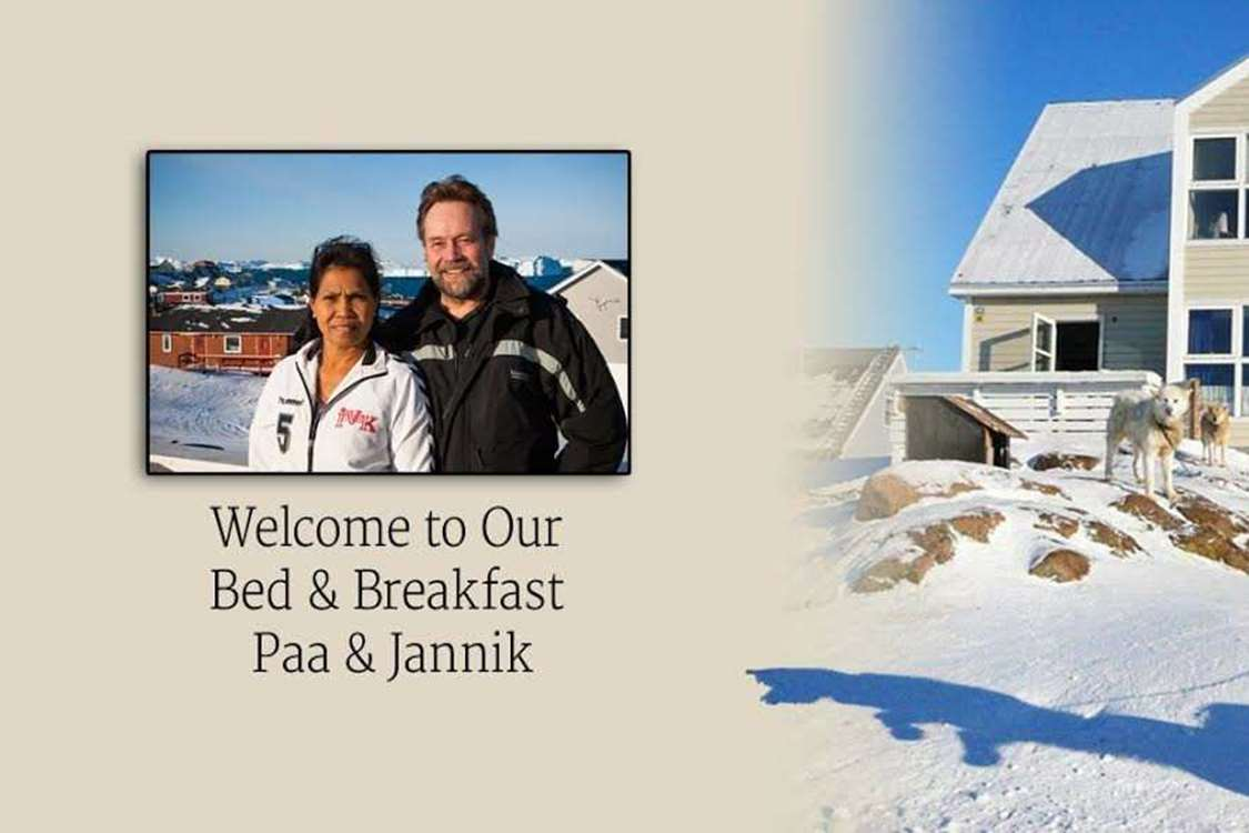 Welcome to our Bed and Breakfast. Photo by Bed & Breakfast Paa and Jannik
