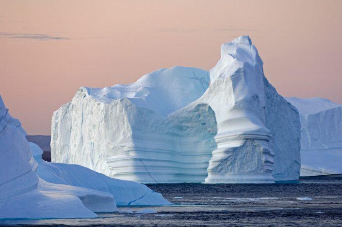 Fantasy-like iceberg in Greenland, by Magnus Elander