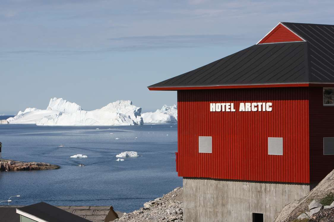 Hotel Arctic from outside. Photo by Hotel Arctic