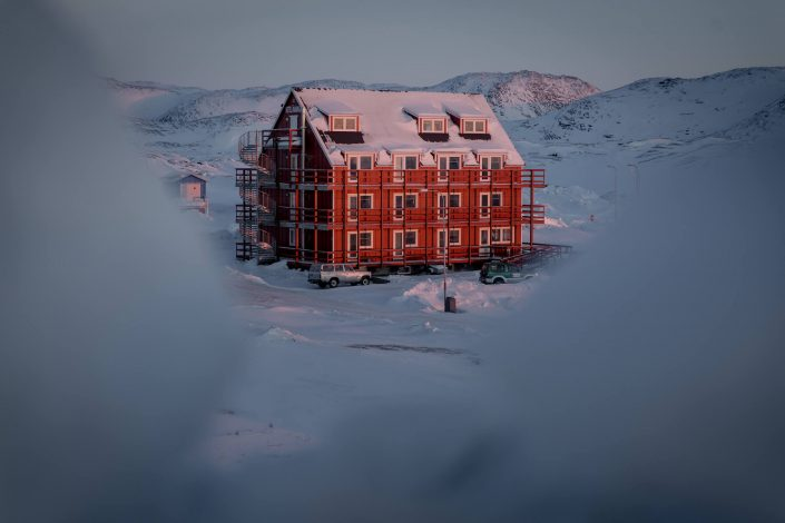 Hotel Avannaa in Ilulissat in Greenland. Photo by Mads Pihl - Visit Greenland