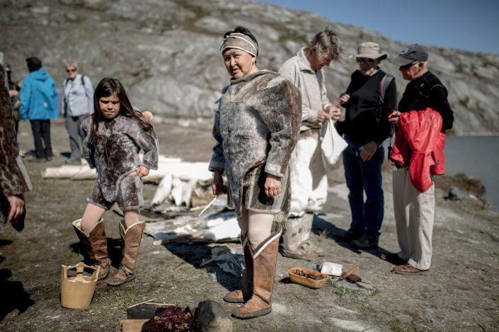 Museum actors at the living village in Qasigiannguit in Greenland. Photo by Mads Pihl - Visit Greenland.jpg