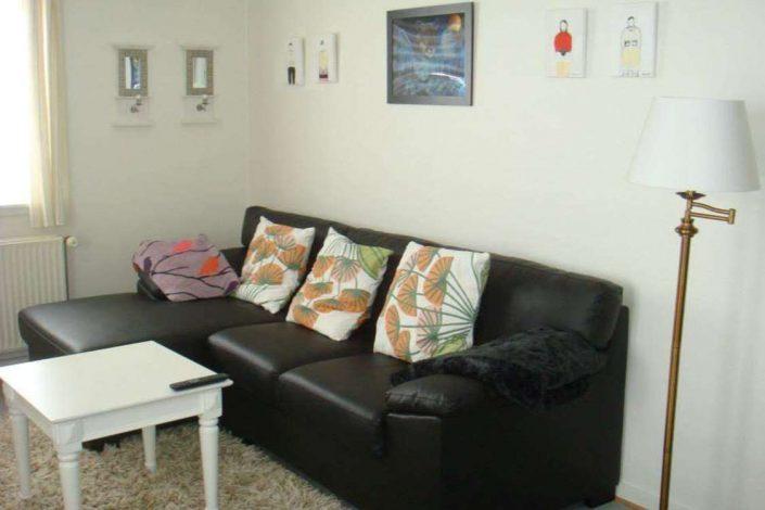 Living room. Photo by Qaanaaq Accommodation
