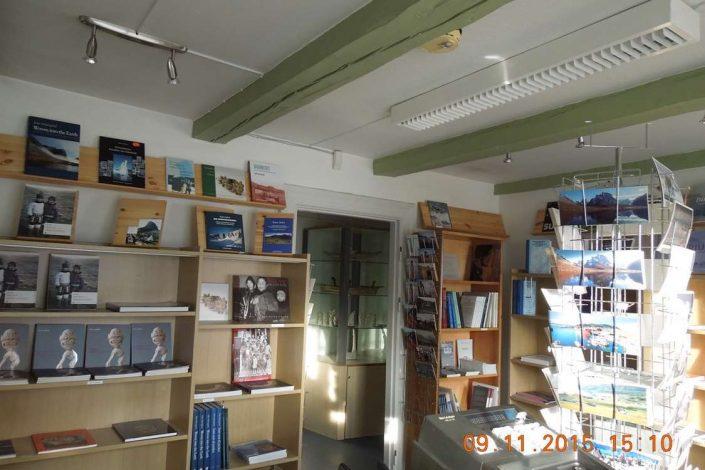 The souvenir shop in Qaqortoq Museum. Photo by Qaqortoq Museum
