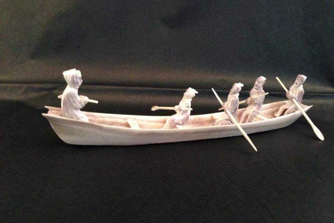 Handmade figure. Visit Greenland