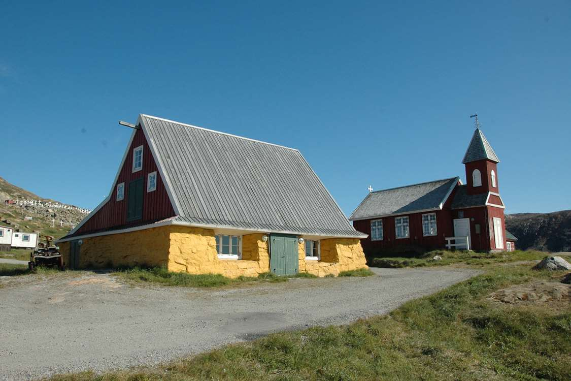 The Upernavik Museum from outside. Photo by Upernavik Museum, Visit Greenland
